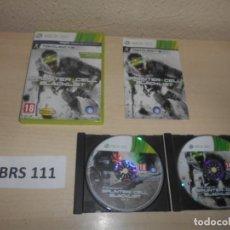 Videojuegos y Consolas: XBOX360 - SPLINTER CELL BLACKLIST , PAL ESPAÑOL , COMPLETO. Lote 244641500