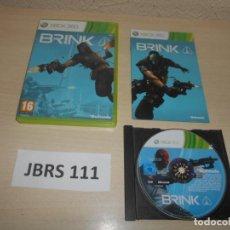 Videojuegos y Consolas: XBOX360 - BLINK , PAL ESPAÑOL , COMPLETO. Lote 244731515