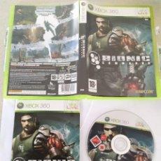 Videojuegos y Consolas: BIONIC COMMANDO XBOX360 XBOX 360 COMPLETO PAL-ESPAÑA. Lote 245955035
