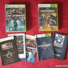 Videojuegos y Consolas: CRACKDOWN 1 Y CRACKDOWN 2 XBOX 360. Lote 246013045