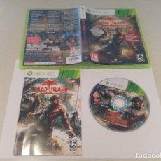 Videojuegos y Consolas: DEAD ISLAND GOTY EDITION XBOX360 COMPLETO PAL-ESPAÑA. Lote 246212840