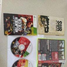 Videojuegos y Consolas: RED DEAD REDEMPTION GOTY XBOX360 XBOX 360 COMPLETO PAL-ESPAÑA. Lote 247762935