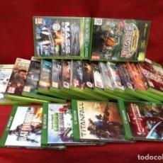 Videojuegos y Consolas: XBOX 360 , 15 UNIDADES Y UNO XBOX Y 4 XBOX ONCE TOTAL 20 UNIDADES. Lote 248091875