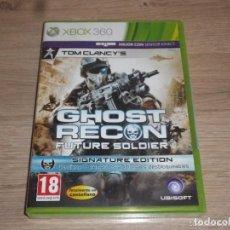 Videojuegos y Consolas: XBOX360 JUEGO GHOST RECON FUTURE SOLDIER NUEVO VERSIÓN ESPAÑOLA. Lote 249305525