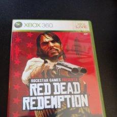 Videojuegos y Consolas: XBOX RED DEAD REDEMPTION COMPLETO. Lote 250334595