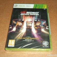 Videojuegos y Consolas: MIDWAY ARCADE ORIGINS PARA XBOX 360, A ESTRENAR, PAL. Lote 253179325