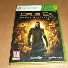 Videojuegos y Consolas: DEUS EX : HUMAN REVOLUTION PARA XBOX 360, A ESTRENAR, PAL. Lote 253179430