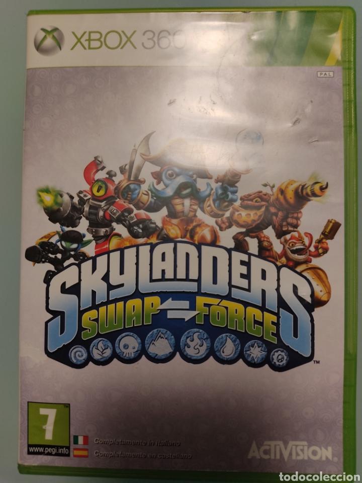 Videojuegos y Consolas: XBOX 360 Skylanders Portal of Power+ juego Skylanders swap force Skylanders con 2 figuras - Foto 5 - 215479802