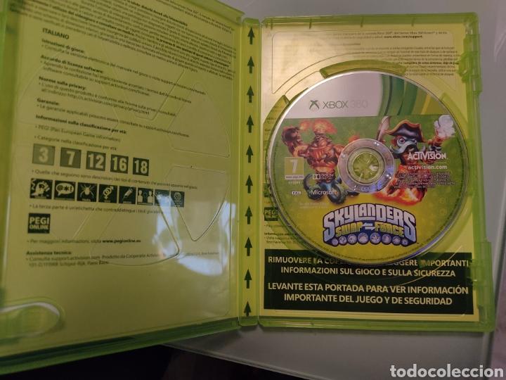 Videojuegos y Consolas: XBOX 360 Skylanders Portal of Power+ juego Skylanders swap force Skylanders con 2 figuras - Foto 6 - 215479802