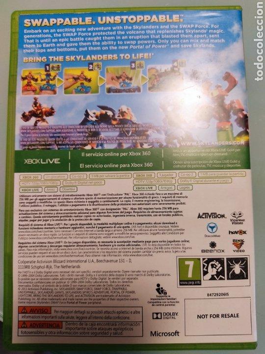 Videojuegos y Consolas: XBOX 360 Skylanders Portal of Power+ juego Skylanders swap force Skylanders con 2 figuras - Foto 7 - 215479802