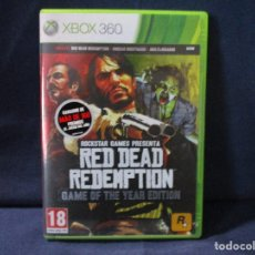 Videojuegos y Consolas: XBOX 360 - RED DEAD REDEMPTION / GAME OF THE YEAR EDITION / PAL ESPAÑA. Lote 255922785