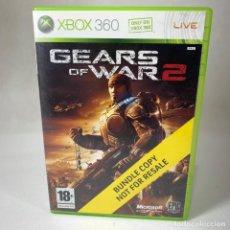 Videojuegos y Consolas: VIDEOJUEGO XBOX 360 - GEARS OF WARS 2 BUNDLE COPY + CAJA. Lote 257282170