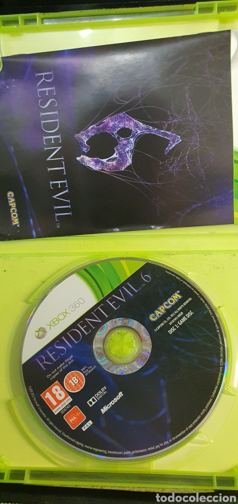 Videojuegos y Consolas: XBOX 360 RESIDENT EVIL 6 2 DISC - Foto 2 - 258499485