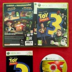 Videojuegos y Consolas: XBOX 360. DISNEY PIXAR. TOY STORY 3. COMPLETO. PAL ESPAÑA. EN CASTELLANO.. Lote 258929595