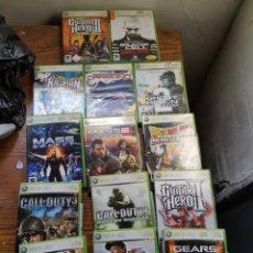 Videojuegos y Consolas: LOTE JUEGOS XBOX 360. Lote 260379595