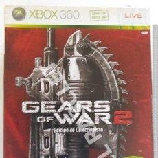 Videojogos e Consolas: XBOX 360 JUEGO - GEARS OF WAR 2 - EDICIÓN COLECIONISTA. Lote 261040625