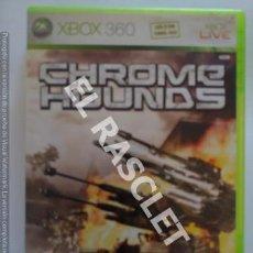 Videojuegos y Consolas: XBOX 360 JUEGO - CHROMS HOUNDS. Lote 261107500