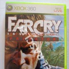 Videojuegos y Consolas: XBOX 360 JUEGO - FARCRY -INSTINCTS - PREDATOR. Lote 261108375