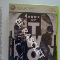 Videojuegos y Consolas: XBOX 360 JUEGO - ARMY OF TWO. Lote 261109380
