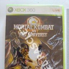 Videojuegos y Consolas: XBOX 360 JUEGO - MORTAL KOMBAT - VS DG UNIVERS. Lote 261112215