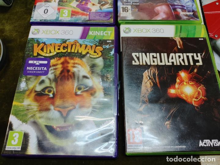 Videojuegos y Consolas: LOTE XBOX 360 CONSOLA 1 MANDO 2 AURICULARES, CABLE ANTENA Y 4 JUEGOS BLITZ, SINGULARTY Y DOS MAS - Foto 2 - 261164265
