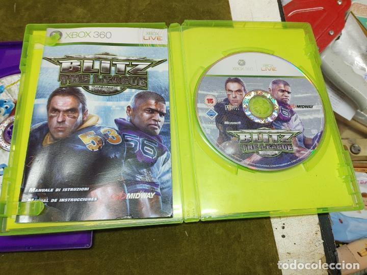 Videojuegos y Consolas: LOTE XBOX 360 CONSOLA 1 MANDO 2 AURICULARES, CABLE ANTENA Y 4 JUEGOS BLITZ, SINGULARTY Y DOS MAS - Foto 5 - 261164265