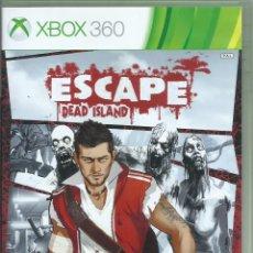 Videojuegos y Consolas: ESCAPE DEAD ISLAND (TEXTOS EN ESPAÑOL Y VOCES EN INGLÉS). Lote 261329625