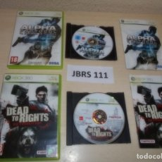 Videojuegos y Consolas: XBOX360 - ALPHA PROTOCOL + DEAD TO RIGHTS RETRIBUTION , PAL ESPAÑOLES. Lote 261831055