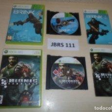 Videojuegos y Consolas: XBOX360 - BRINK + BIONIC COMMANDO , PAL ESPAÑOLES. Lote 261831515