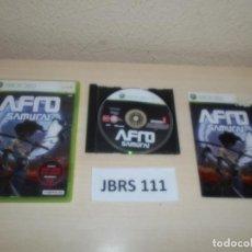 Videojuegos y Consolas: XBOX 360 - AFRO SAMURAI , PAL ESPAÑOL , COMPLETO. Lote 261948010
