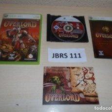 Videojuegos y Consolas: XBOX 360 - OVERLORD , PAL ESPAÑOL , COMPLETO. Lote 261948215