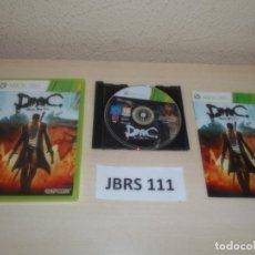 Videojuegos y Consolas: XBOX 360 - DMC DEVIL MAY CRY , PAL UK(INLUYE ESPAÑOL) , COMPLETO. Lote 261948360