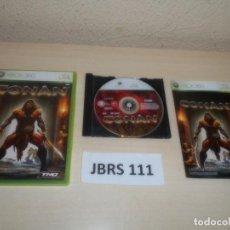 Videojuegos y Consolas: XBOX 360 - CONAN , PAL ESPAÑOL , COMPLETO. Lote 261948970