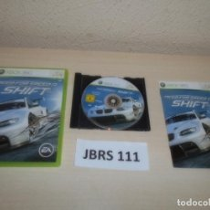Videojuegos y Consolas: XBOX 360 - NEED FOR SPEED SHIFT , PAL ESPAÑOL , COMPLETO. Lote 261949085