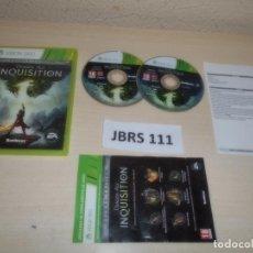 Videojuegos y Consolas: XBOX 260 - DRAGON AGE INQUISITION , PAL ESPAÑOL , COMPLETO. Lote 261949295