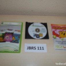 Videojuegos y Consolas: XBOX 360 - LIVE ARCADE GAME PACK , PAL ESPAÑOL , COMPLETO. Lote 261950450