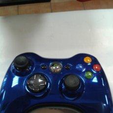 Videojuegos y Consolas: MANDO XBOX 360 AZUL METALICO.. Lote 262128855