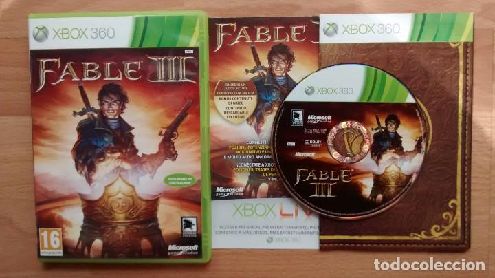 FABLE III 3 PAL ESPAÑOL XBOX 360 - POSIBILIDAD DE ENTREGA EN MANO EN MADRID (Juguetes - Videojuegos y Consolas - Microsoft - Xbox 360)