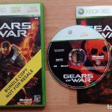 Videojuegos y Consolas: GEARS OF WAR PAL XBOX 360 - POSIBILIDAD DE ENTREGA EN MANO EN MADRID. Lote 262986100