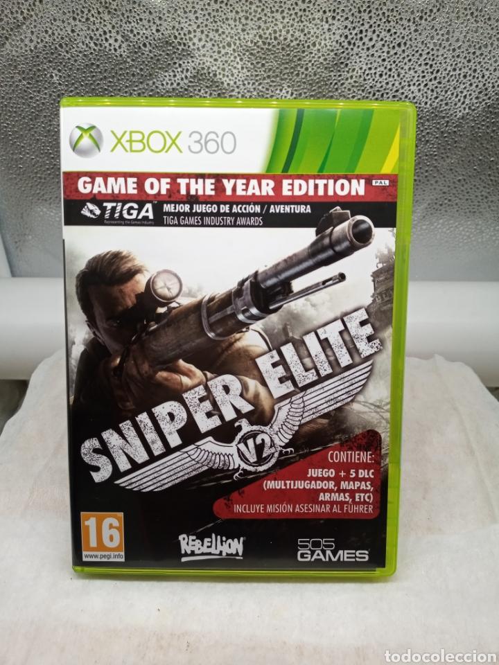SNIPER ÉLITE EDICIÓN JUEGO DEL AÑO XBOX 360 (Juguetes - Videojuegos y Consolas - Microsoft - Xbox 360)