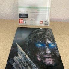 Videojuegos y Consolas: SHADOW OF MORDOR XBOX 360 CAJA METÁLICA. Lote 263128685