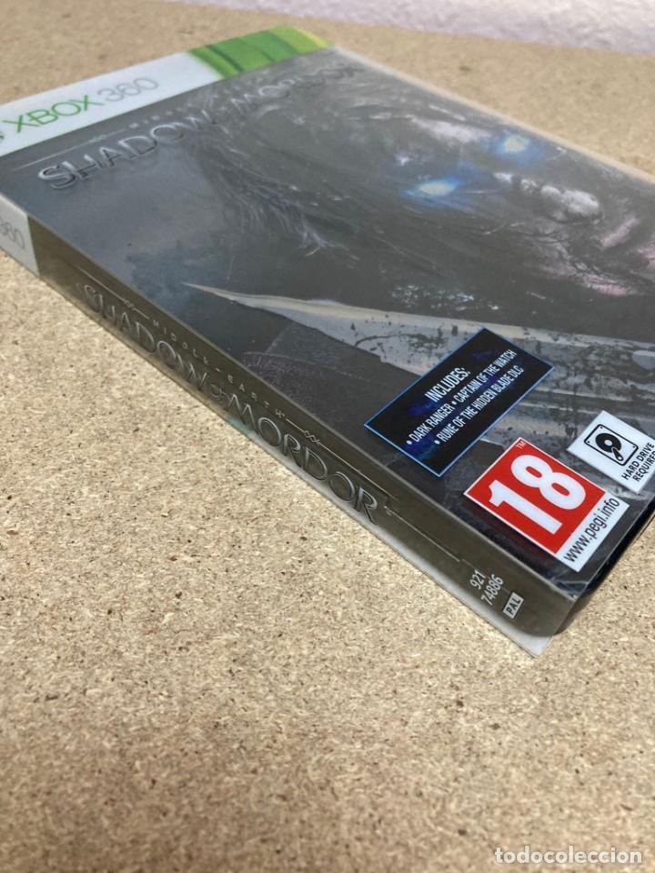 Videojuegos y Consolas: Shadow of mordor xbox 360 caja metálica - Foto 2 - 263128685