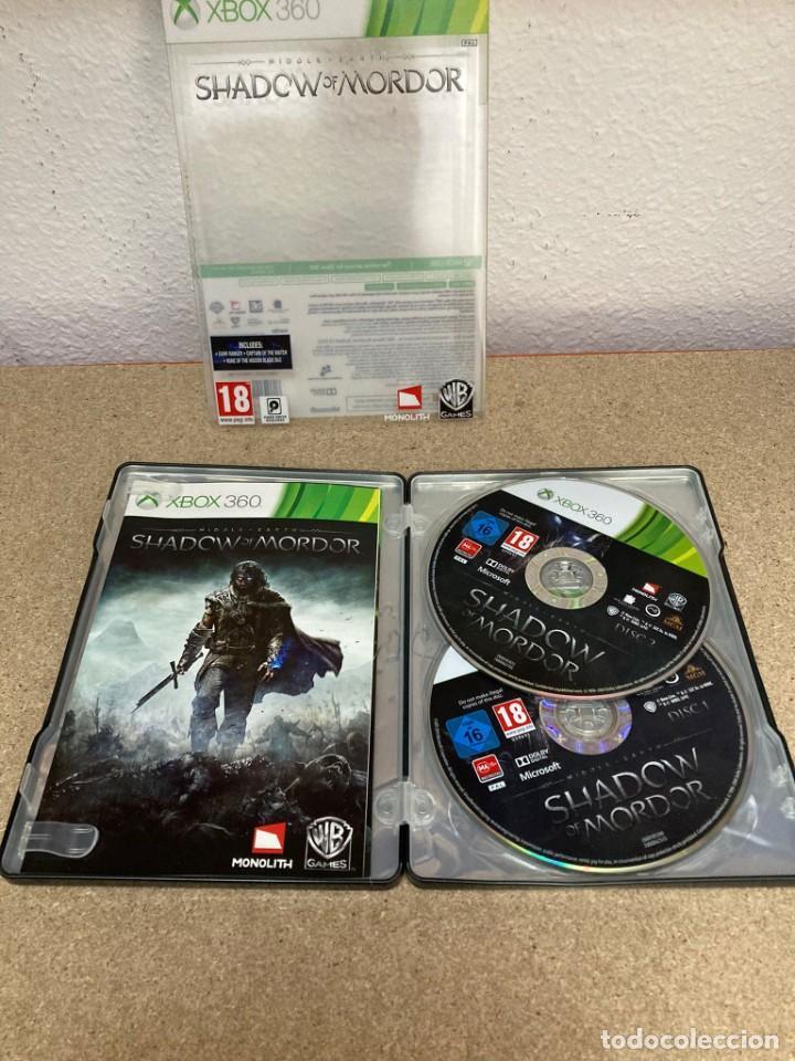 Videojuegos y Consolas: Shadow of mordor xbox 360 caja metálica - Foto 3 - 263128685