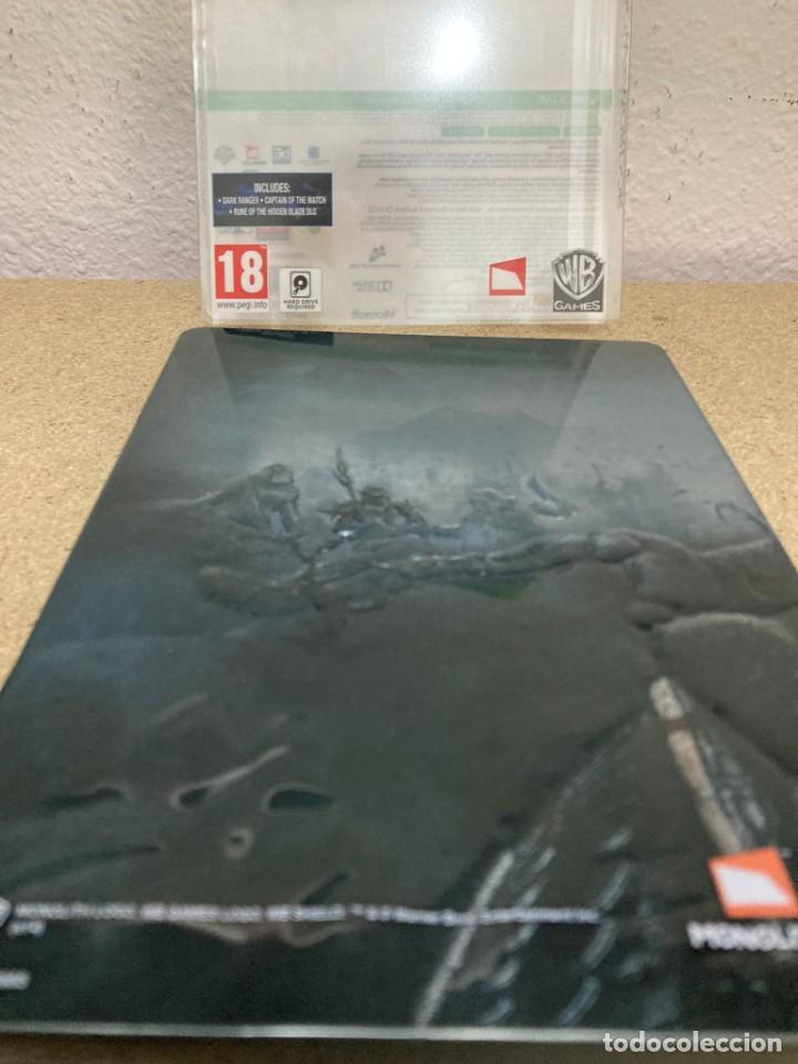 Videojuegos y Consolas: Shadow of mordor xbox 360 caja metálica - Foto 4 - 263128685