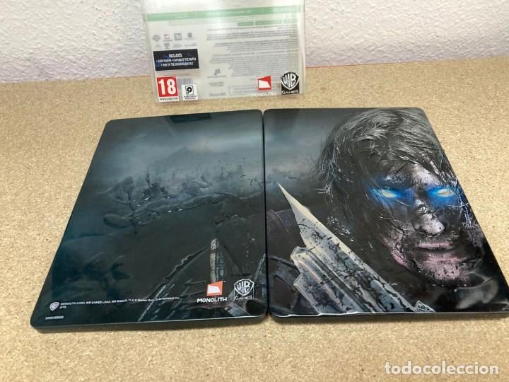 Videojuegos y Consolas: Shadow of mordor xbox 360 caja metálica - Foto 5 - 263128685
