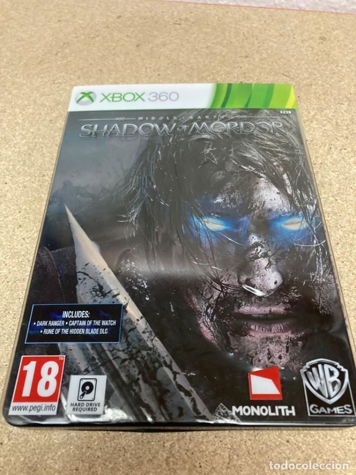 Videojuegos y Consolas: Shadow of mordor xbox 360 caja metálica - Foto 6 - 263128685