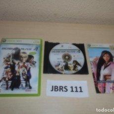 Videojuegos y Consolas: XBOX 360 - DEAD OR ALIVE 4 , PAL ESPAÑOL , COMPLETO. Lote 264753939