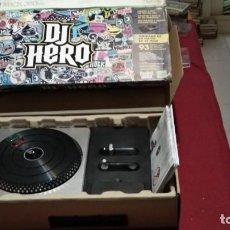 Videojuegos y Consolas: DJ HERO LA PRIMERA PARA XBOX 360 CON INSTRUCCIONES Y CAJAS - VER FOTOS. Lote 266976709