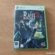 Videojuegos y Consolas: VAMPIRE RAIN XBOX 360 PAL ESPAÑA COMPLETO. Lote 267028514