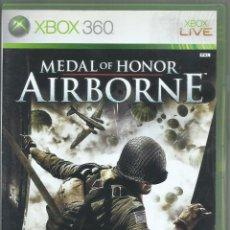 Videojogos e Consolas: MEDAL OF HONOR: AIRBORNE (INCL. MANUAL EN CASTELLANO). Lote 267495809